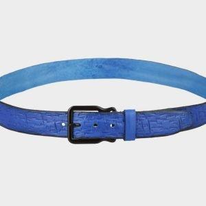 Удобный синий женский джинсовый ремень ATS-691