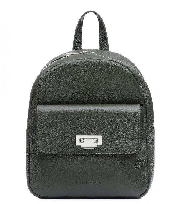 Удобный желтовато-зелёный женский рюкзак FBR-2388