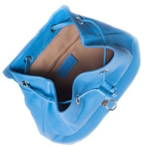 Удобный голубой женский рюкзак FBR-943