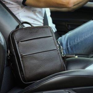 Модная коричневая мужская сумка через плечо BRL-34408 223390