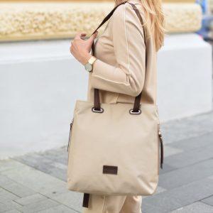 Стильная бежевая женская сумка FBR-2669 219088