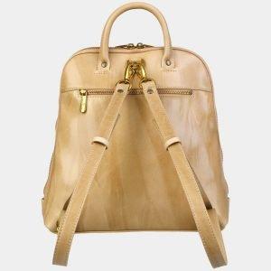 Неповторимый бежевый рюкзак с росписью ATS-3089 213550