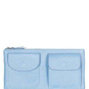 Солидная голубая женская сумка FBR-1264
