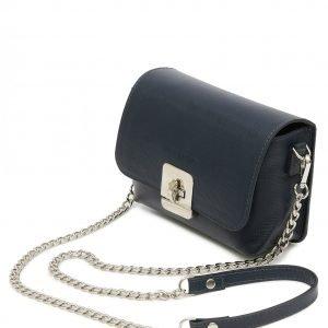 Солидная синяя женская сумка FBR-2338 218589