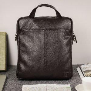 Стильная коричневая мужская сумка через плечо BRL-33395 222976