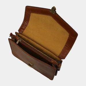 Стильная светло-коричневая женская сумка на пояс ATS-3064