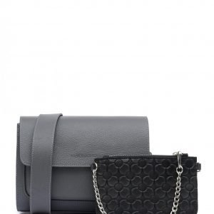 Деловая серая женская сумка FBR-2380