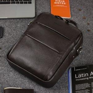 Модная коричневая мужская сумка через плечо BRL-34408 223392