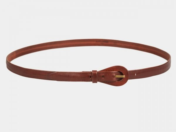 Неповторимый светло-коричневый женский модельный ремень ATS-1153