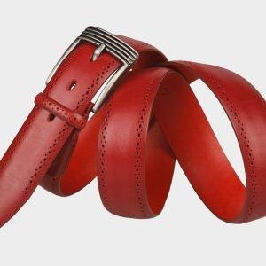 Деловой красный мужской классический ремень ATS-1283 216869