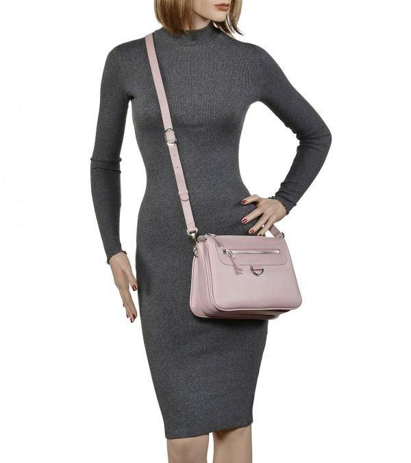 Уникальная розовая женская сумка через плечо FBR-2287