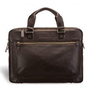 Деловая коричневая мужская классическая сумка BRL-2976 220269