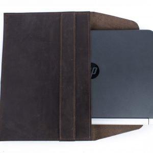 Удобная коричневая обложка для паспорта BNZ-421