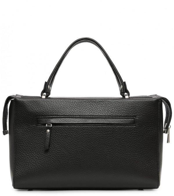 Солидная черная женская сумка FBR-2678
