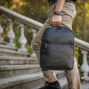 Функциональный черный мужской рюкзак BRL-35565