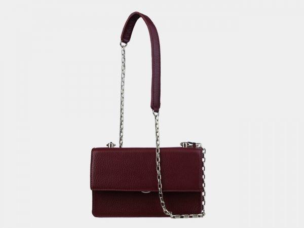 Модный бордовый женский клатч ATS-3099