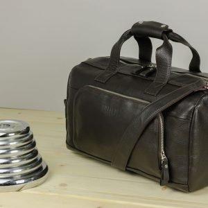 Модная коричневая сумка для фитнеса BRL-30909