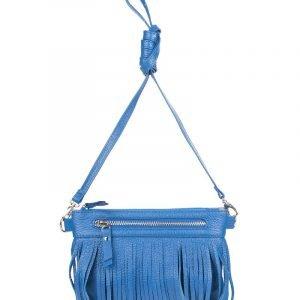 Уникальная синяя женская сумка FBR-234