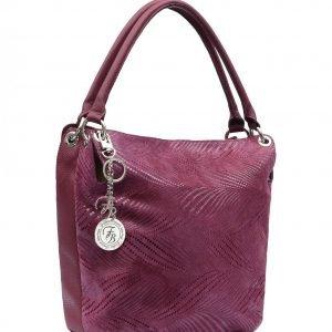 Неповторимая бордовая женская сумка FBR-2602 218981