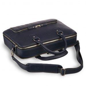 Удобная синяя мужская сумка трансформер через плечо BRL-23168 221931