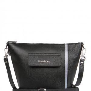 Удобная черная женская сумка FBR-2155