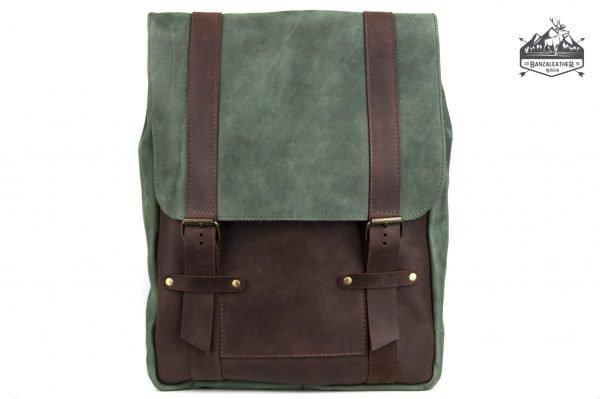 Кожаный рюкзак BNZ-436