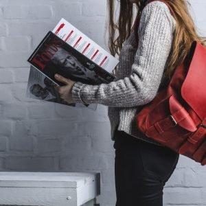 Неповторимый красный рюкзак BNZ-466 219594