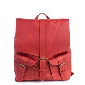 Уникальный красный рюкзак BNZ-466