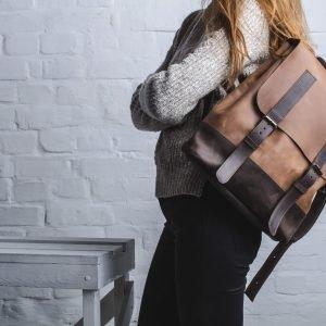 Уникальный коричневый рюкзак BNZ-474 219583