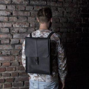 Уникальный черный рюкзак BNZ-481