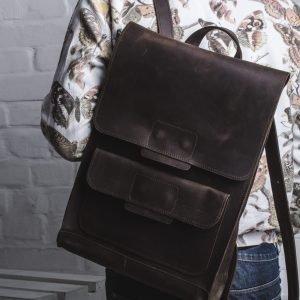 Солидный коричневый рюкзак BNZ-496 219565
