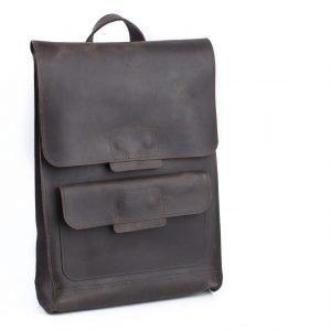 Солидный коричневый рюкзак BNZ-496 219564