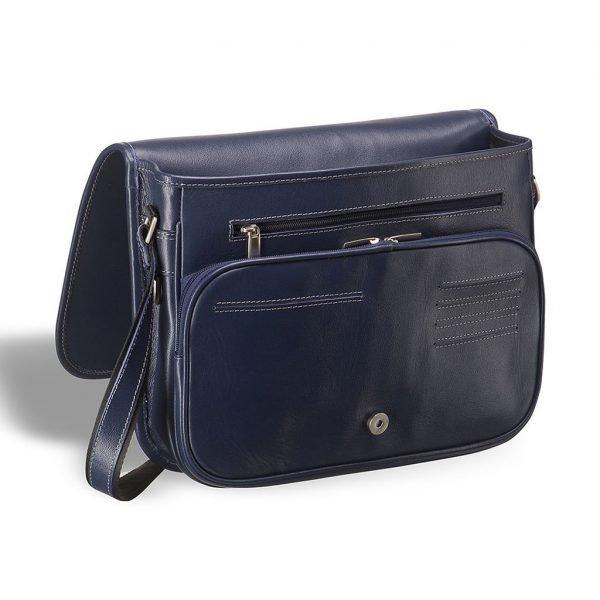 Стильная синяя мужская сумка через плечо BRL-7224