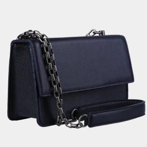Деловой синий женский клатч ATS-3100 213499
