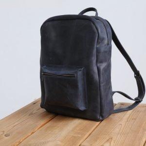 Солидный синий рюкзак BNZ-514