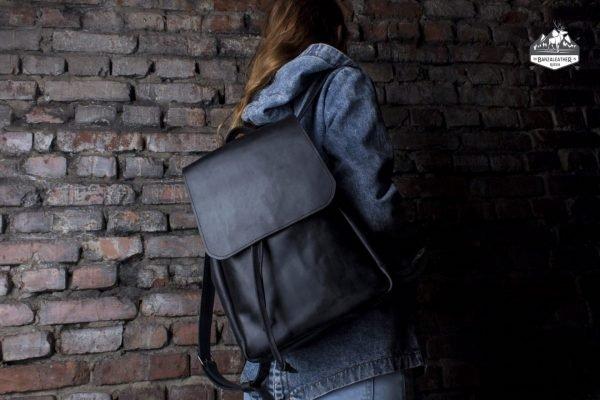 Уникальный черный рюкзак BNZ-526