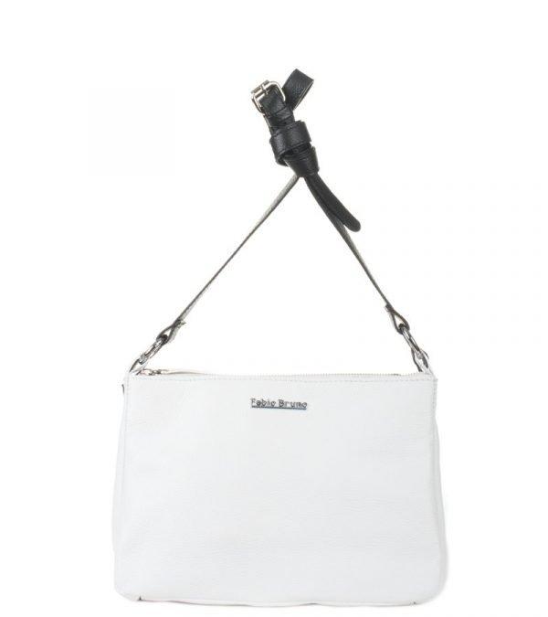 Деловая белая женская сумка через плечо FBR-159