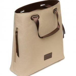 Стильная бежевая женская сумка FBR-2669 219092