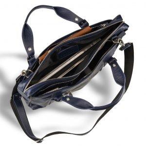 Удобная синяя мужская классическая сумка BRL-7544 220595