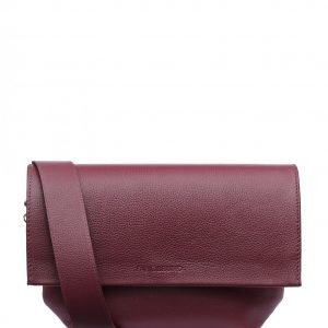Уникальный бордовый женский клатч FBR-2384