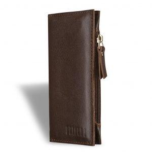 Стильный коричневый мужской портмоне клатч BRL-8451 220727