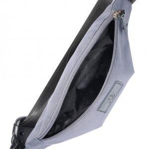 Вместительная серая женская поясная сумка FBR-2496 218883