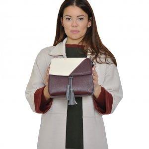 Неповторимая бордовая женская сумка FBR-2317 218537