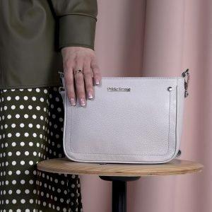 Стильная серая женская сумка FBR-2057 218254