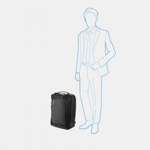 Неповторимый черный рюкзак из пвх ATS-3815 211080