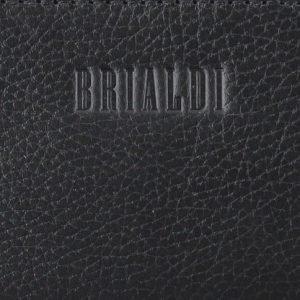 Кожаная черная мужская сумка через плечо BRL-33394 222958