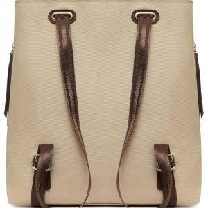 Стильная бежевая женская сумка FBR-2669 219093