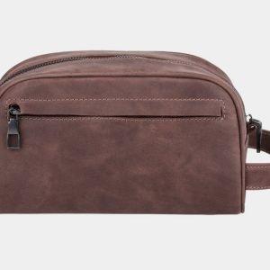 Стильная коричневая косметичка ATS-854 217078
