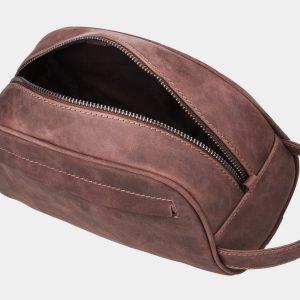 Стильная коричневая косметичка ATS-854 217079