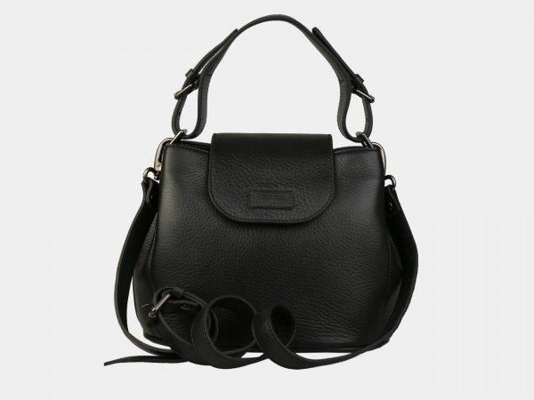 Модная черная женская сумка ATS-3095